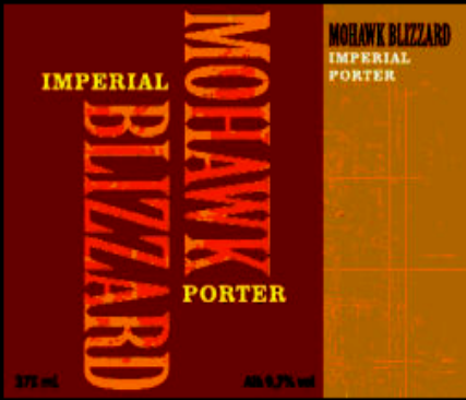 Mohawk Double Barrel Aged Blizzard