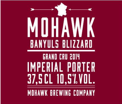 Mohawk Banyuls Blizzard Grand Cru 2014